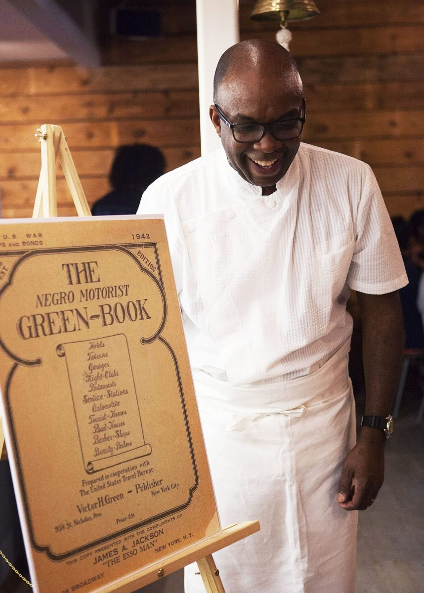 Green Book Pop-Up Dinner Co-Founder Chef Ricky Moore