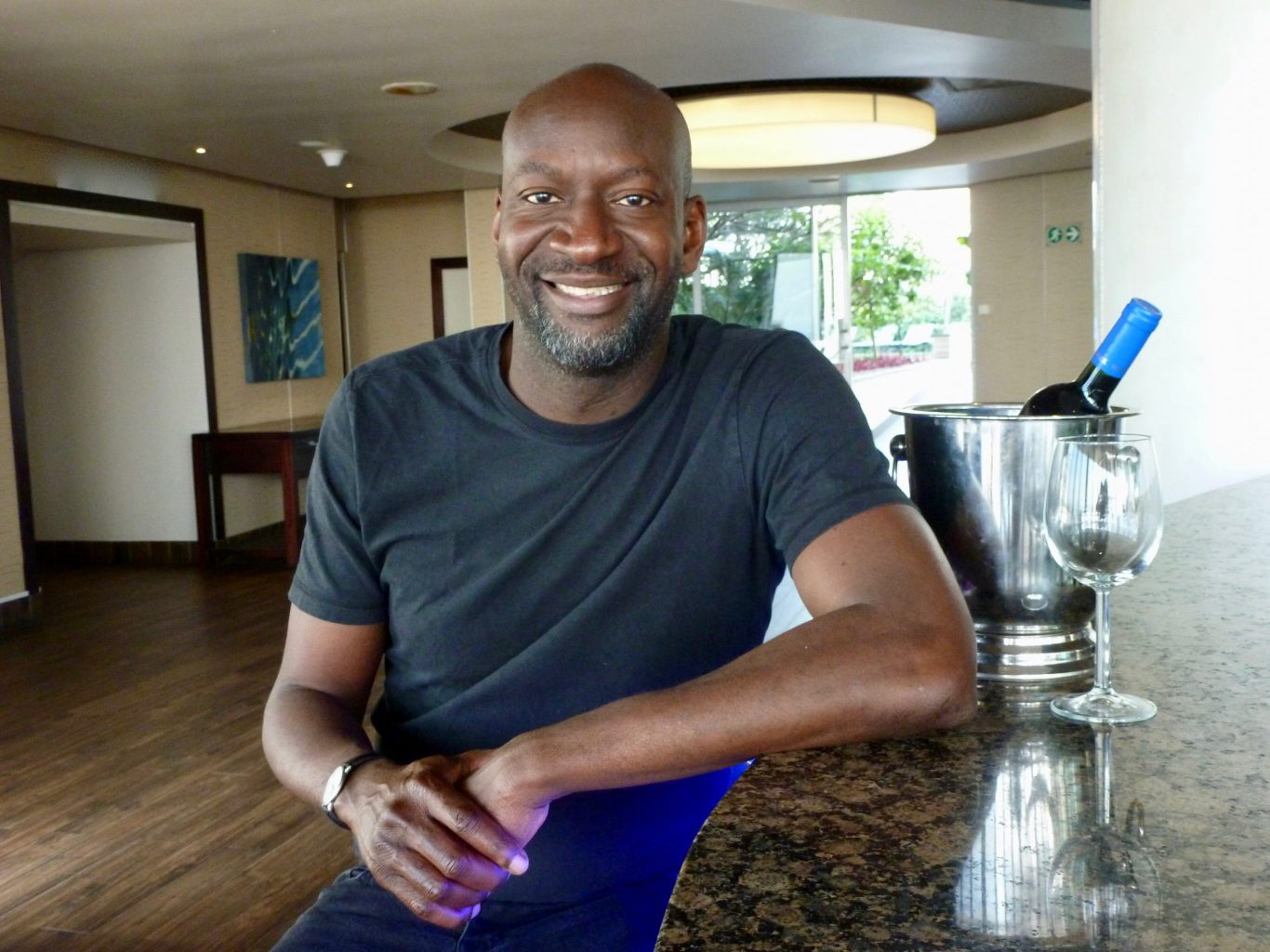 Nigerian filmmaker Akin Omotoso