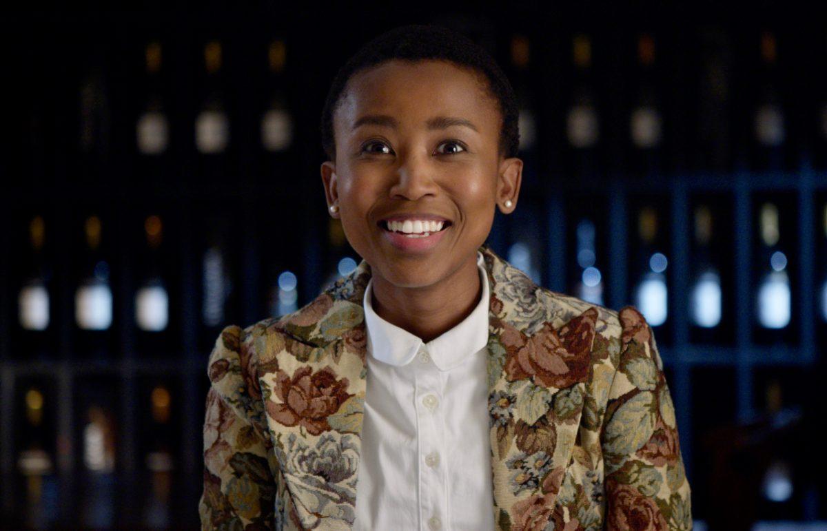South African winemaker Unathi Mantshongo