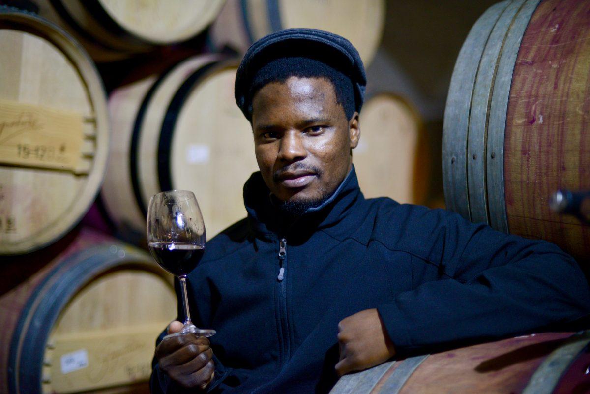 Winemaker Dumisani Mathonsi