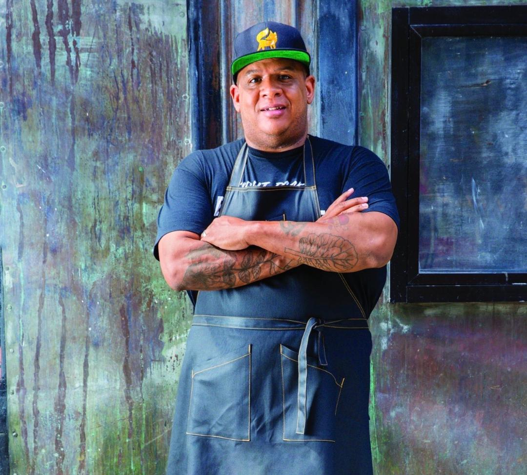 SOUL author and chef Todd Richards