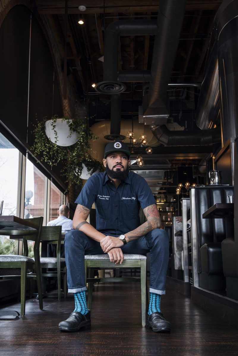Iron Chef Winner Justin Sutherland Delivers Diversity in