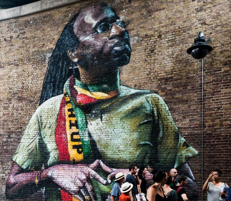 Black Mural in London