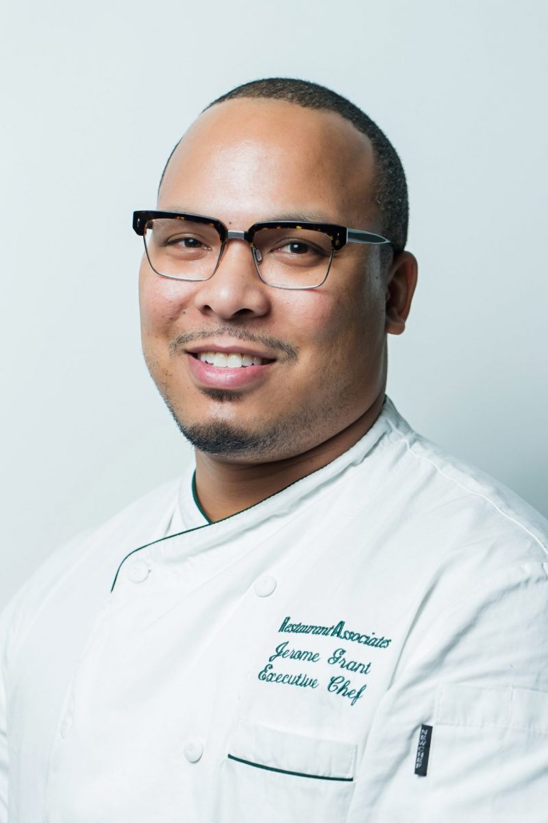 Chef Jerome Grant, Sweet Home Cafe