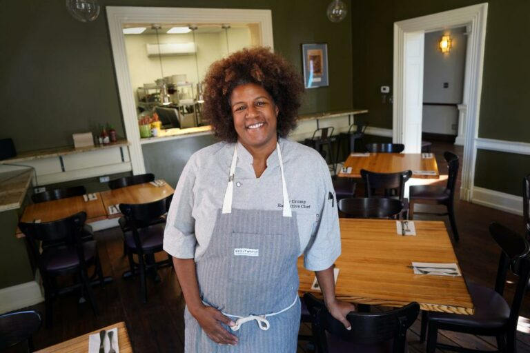 Foode Chef Joy Crump Big on Community