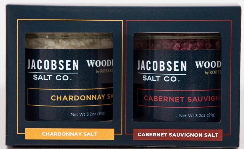 Jacobsen Salt Co. & Woodbridge by Robert Mondavi Salt Set