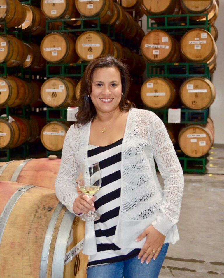 Dr. Dawna Darjean Jones, winemaker