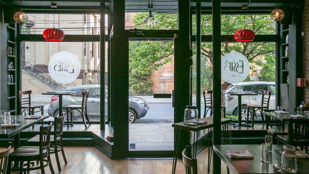 Essie's Restaurant in New York by Brandon Walker