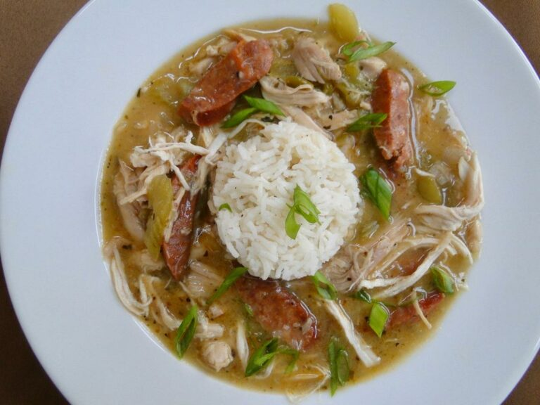 Leftover Turkey and Sausage Gumbo