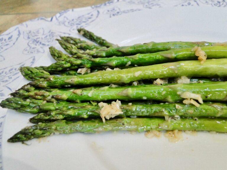 Cuisine Noir Magazine - Garlic Aparagus
