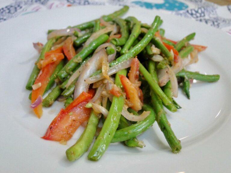 Cuisine Noir Magazine - Haricot Green Beans