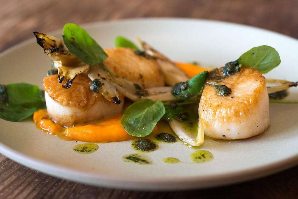 Seafood dish Finch & Fork in Santa Barbara