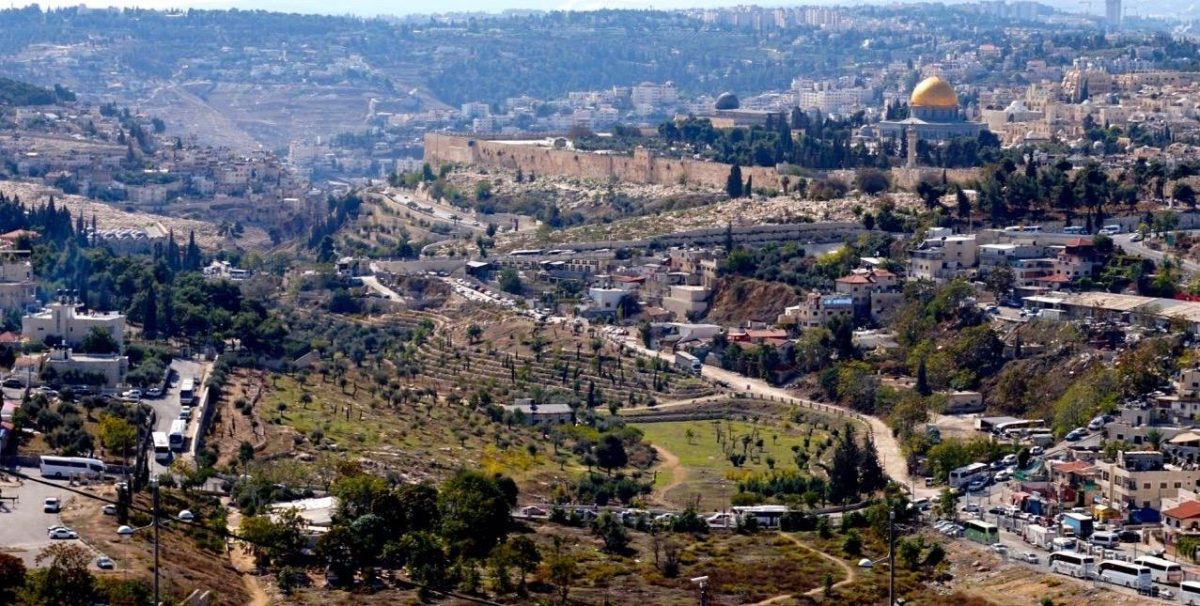 Mount of Olives in Israel