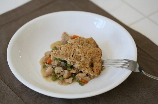 Savory Chicken Biscuit Pot Pie