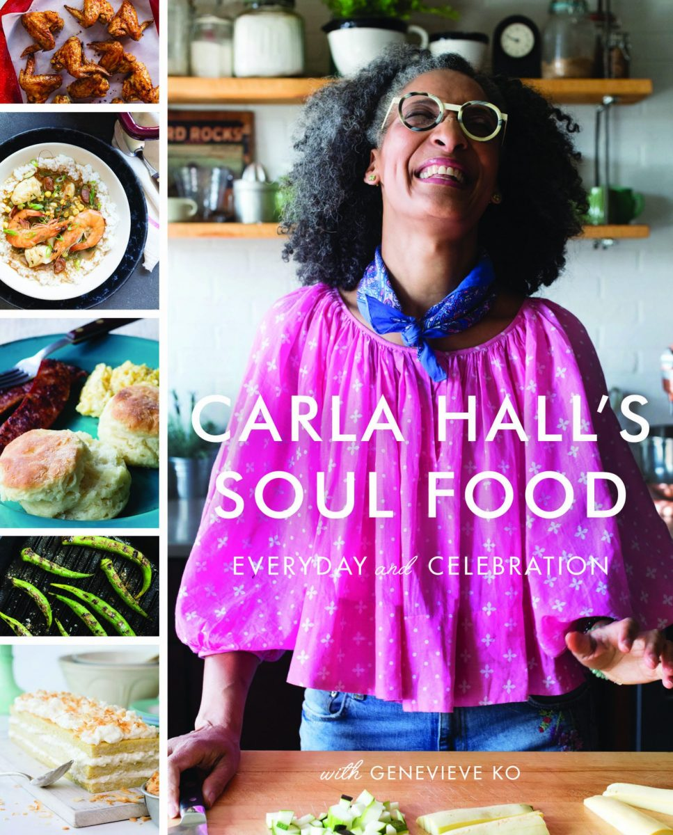 Book cover of Carla Hall's Soul Food