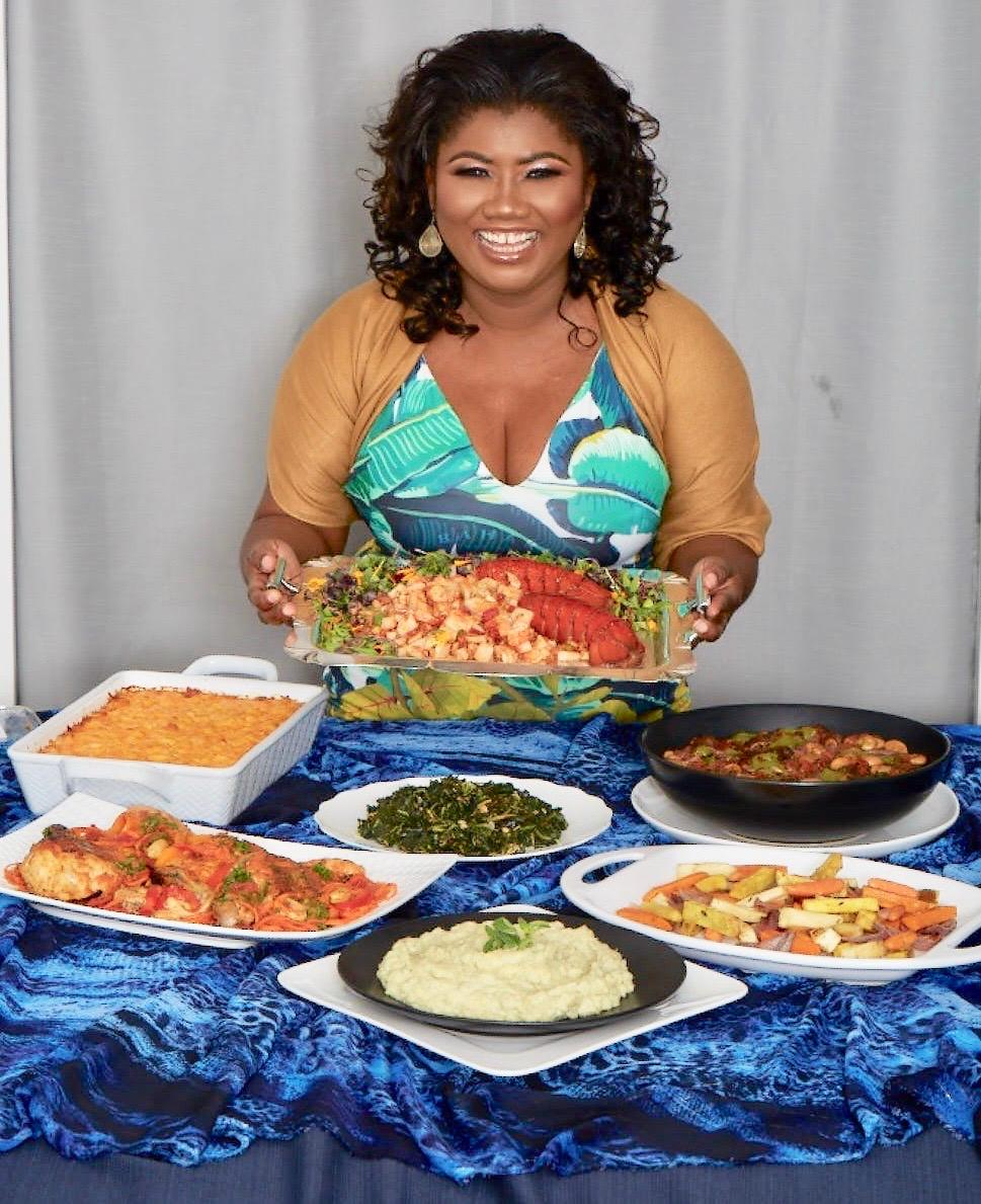 Bahamian chef and cookbook author Raquel Fox