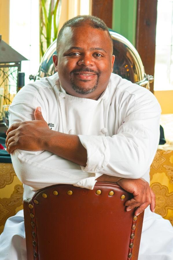 Caterer and chef Reginald Martin, owner of Lemond Kitchen in Houston, TX
