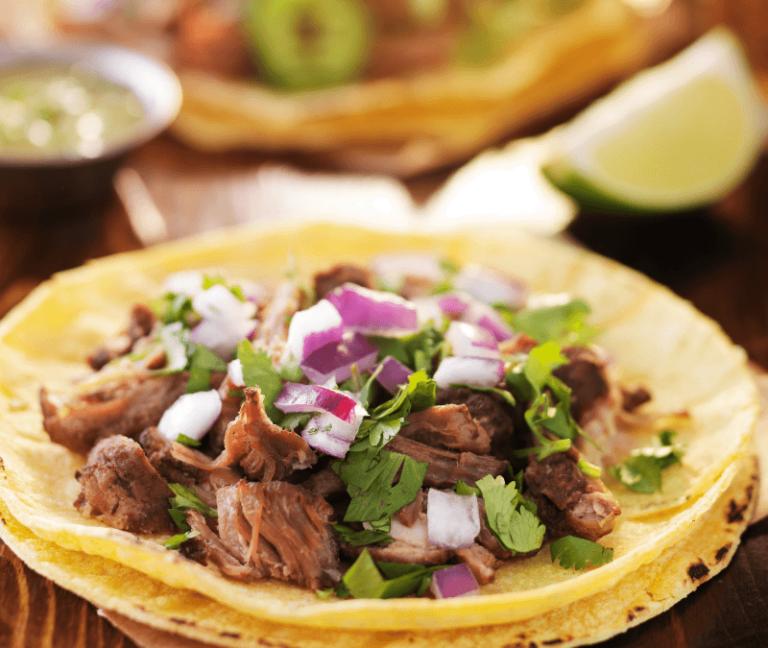 Arawak Farm Slow Cooker Jerk Beef Tacos