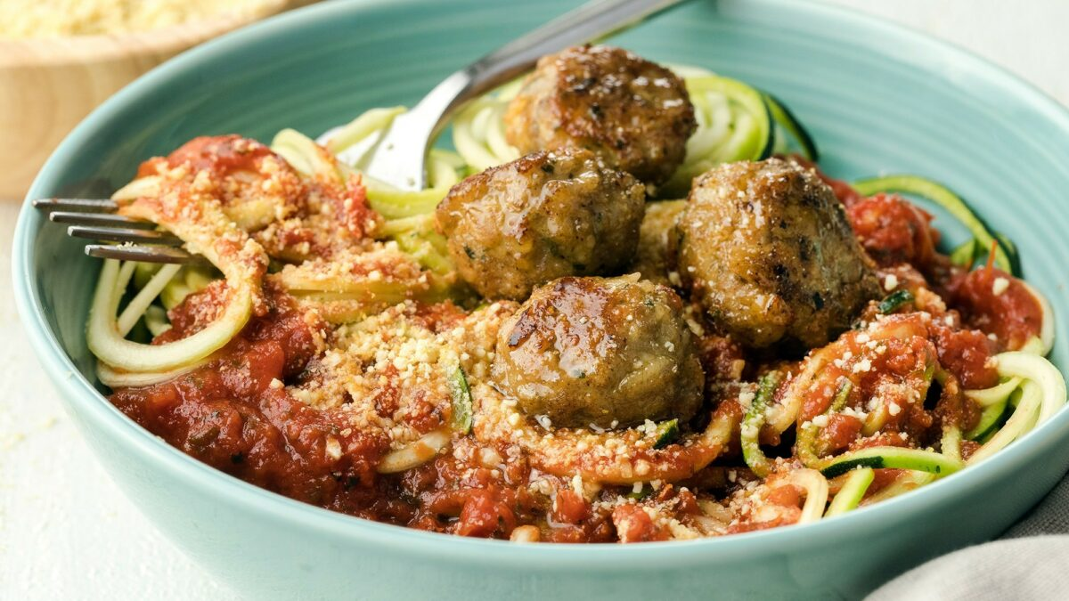 Tia's Turkey Meatballs