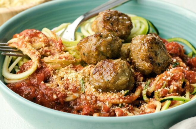 Tia's Turkey Meatballs