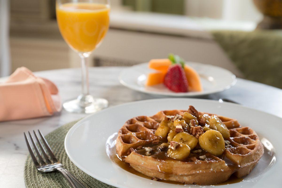 Breakfast at Akwaaba Bed & Breakfast Inns