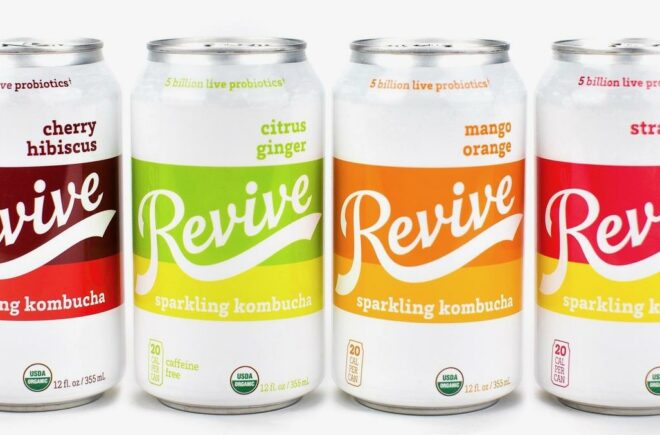 Revive Kombucha Encourages Everyone's Inner Homebrewer and Introduces New Sparkling Kombucha