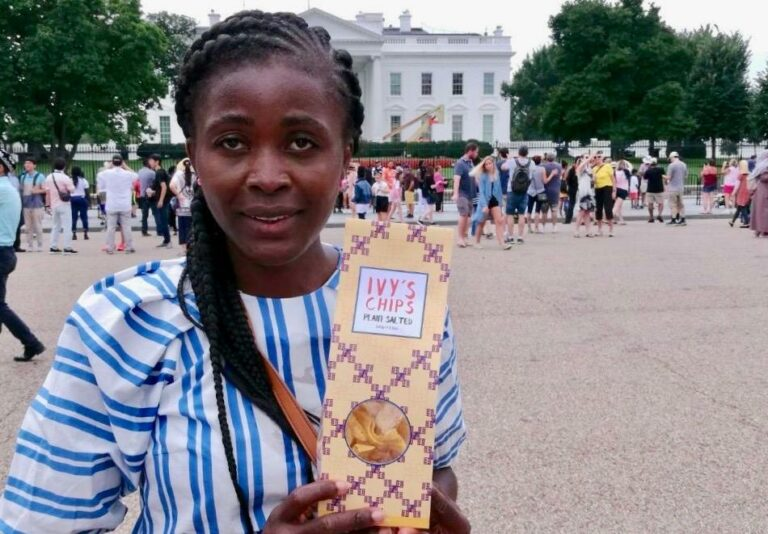 Ivy Garsjø's Ghana – Norway Plantain Chip Passion