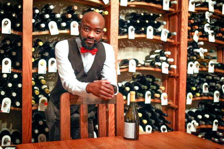 Pardon Taguzu's Wine Legs: From Zimbabwe via South Africa to the Netherlands