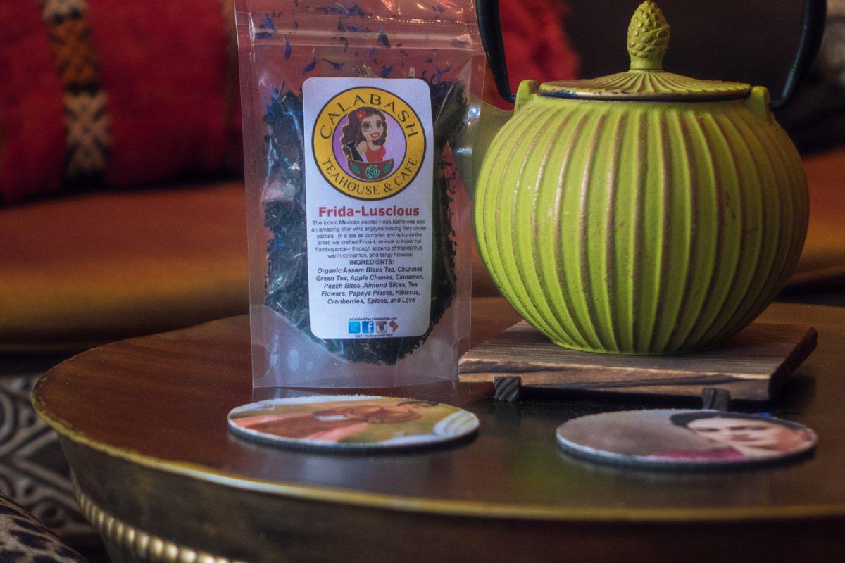 Frida-Luscious tea blend at Calabash Tea & Tonic in DC