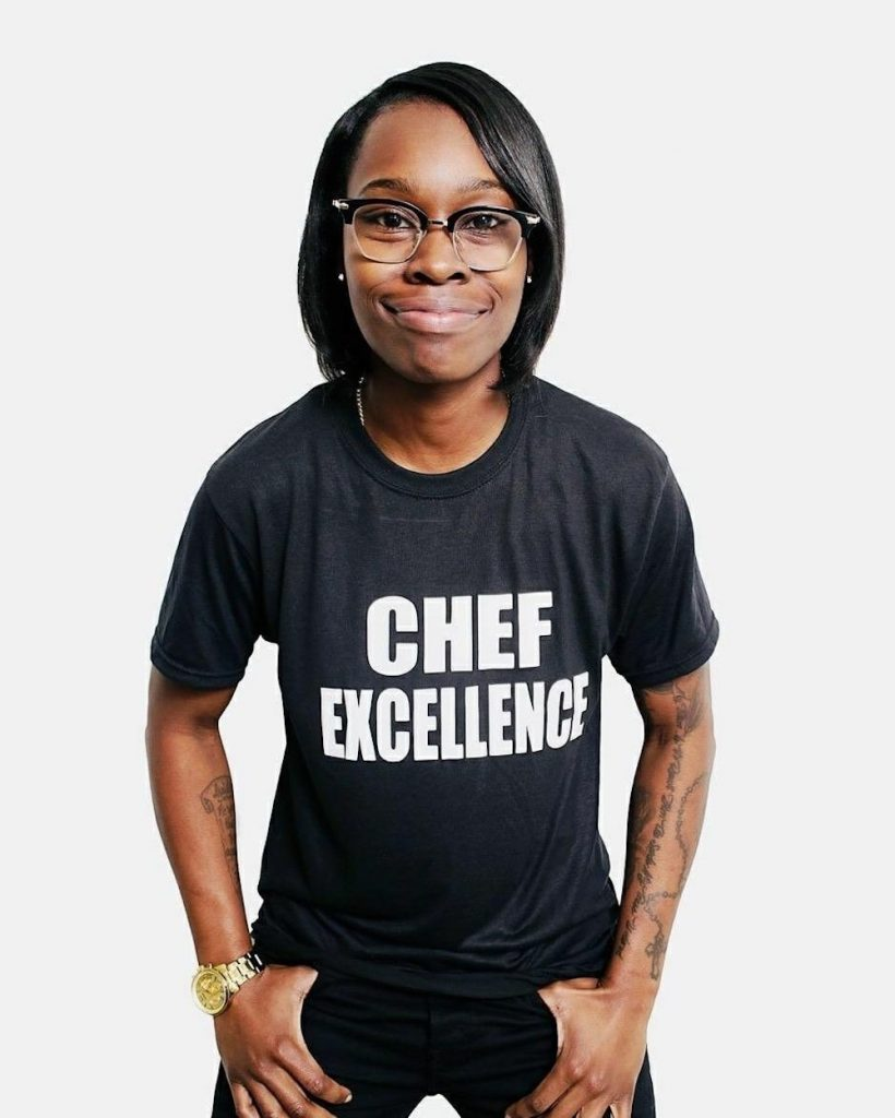 Chopped Champion Roshara Sanders Changes the Culinary Scene for Families and Veterans