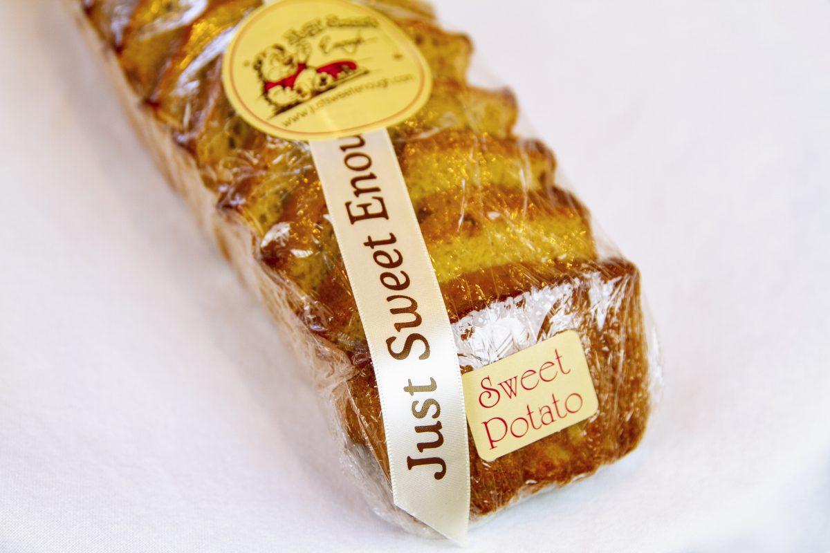Just Sweet Enough Sweet Potato Pound Cake