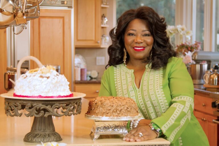 Glynis Albright, owner Albright Cuisine and Just Sweet Enough