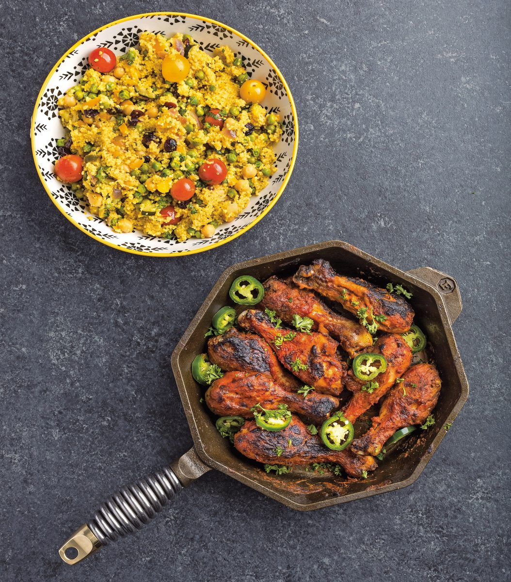Harissa Chicken recipe by Evi Aki from Flavors of Africa