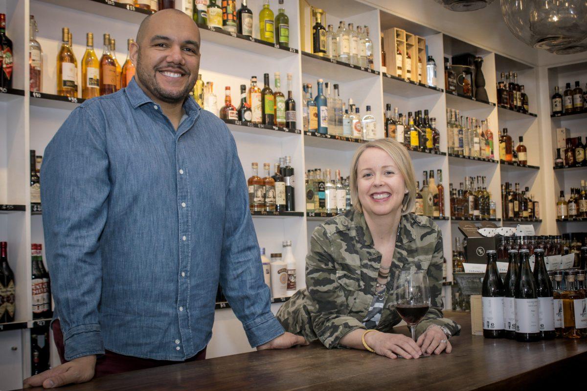 Urban Grape owners TJ and Hadley Douglas