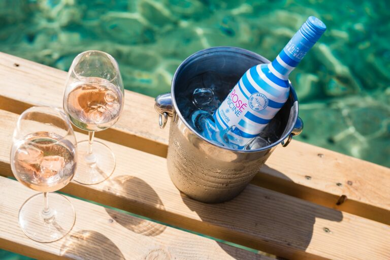 Rosé Piscine: A French Wine Served Over Ice