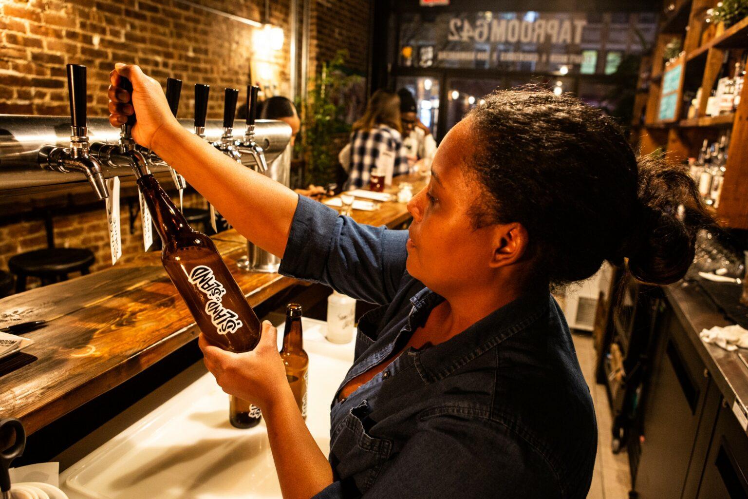 Danii Oliver, owner Island to Island Brewery