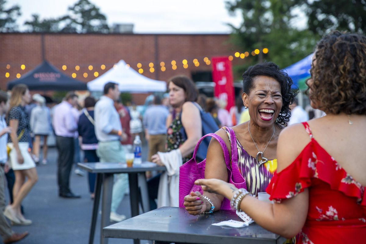 Guests at the 2018 Atlanta Food & Wine Festival