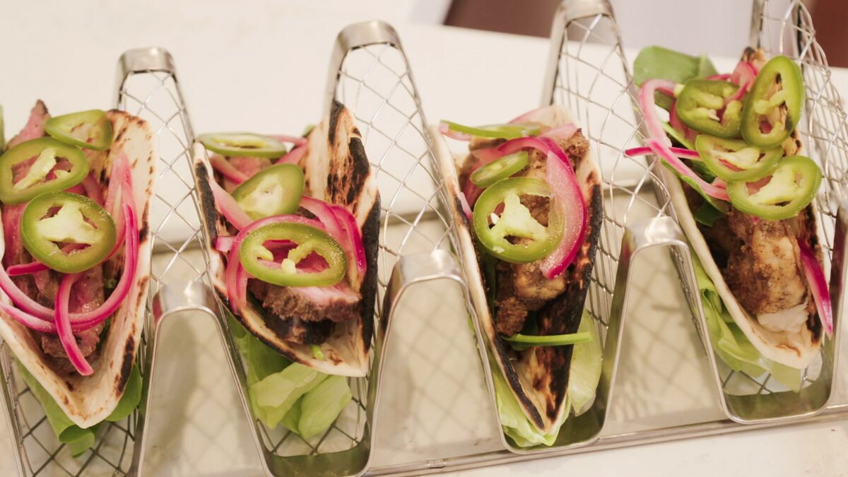 Surf and Turf Tacos from Living By Design with Jake and Jazz Smollett