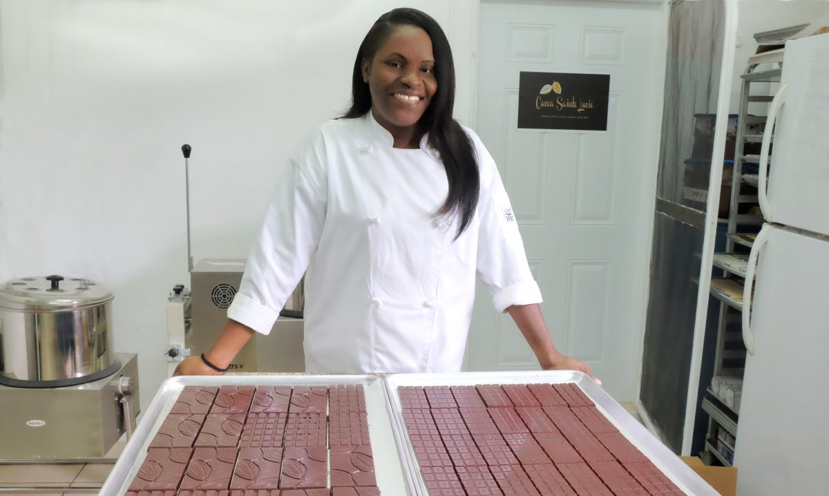 Maria Jackson of Cacao St. Lucie