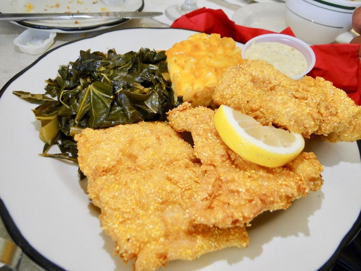 Fried Catfish at Miss Mamie's Spoonbread Too