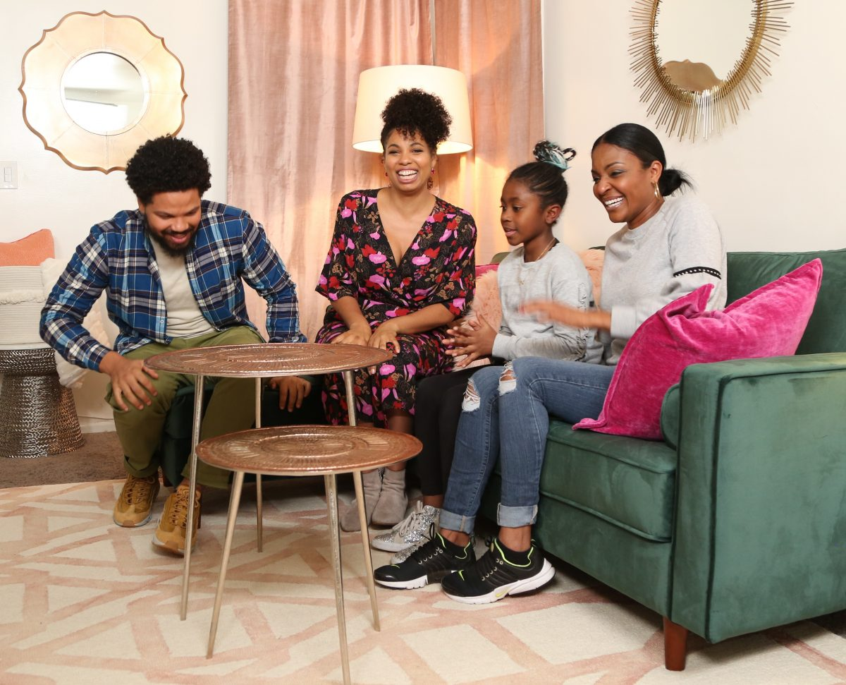 Design reveal with Jake and Jazz Smollett from Living by Design on Cleo TV