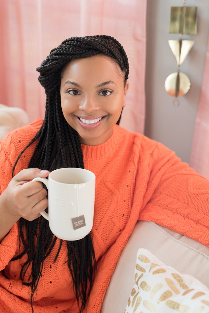 Courtney Alexandria, Owner of Candid Tea in Maryland