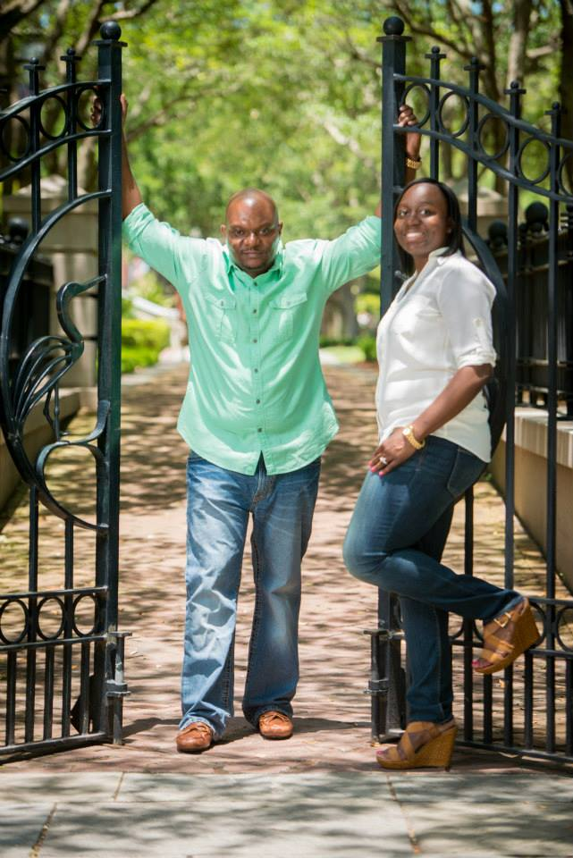 Tyrone and Kitwanda Cyrus of Kiki's Chicken and Waffles in South Carolina
