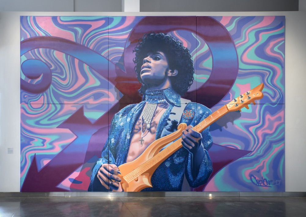 Picture of Prince at the Museum of Pop Culture