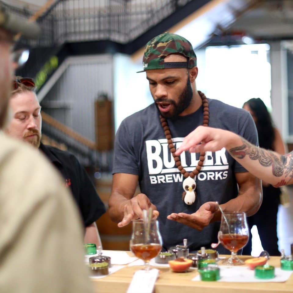 Black Brewmaster at 2018 Fresh Fest Beer Fest