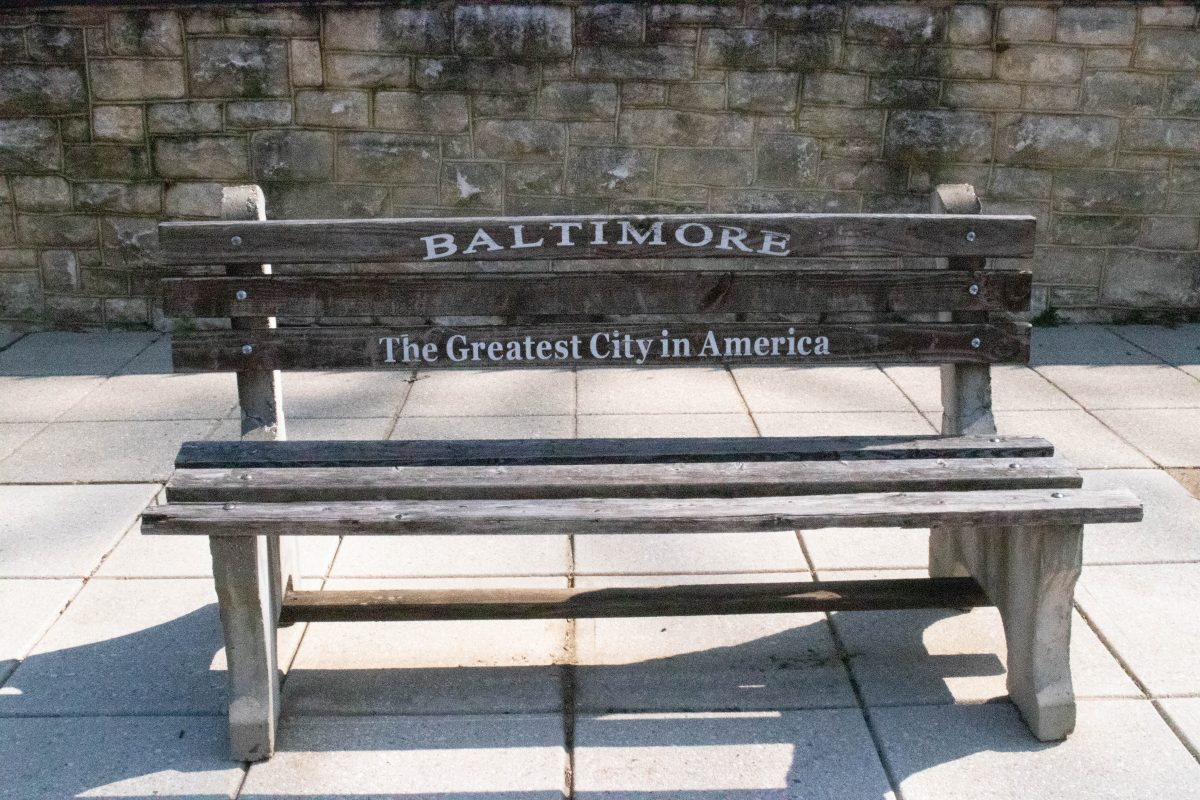 Baltimore Bench in Baltimore, MD
