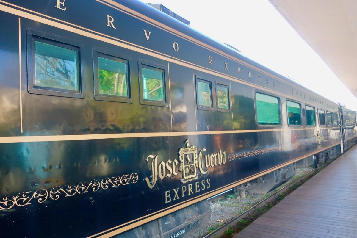 Jose Cuervo Express Train in Mexico City