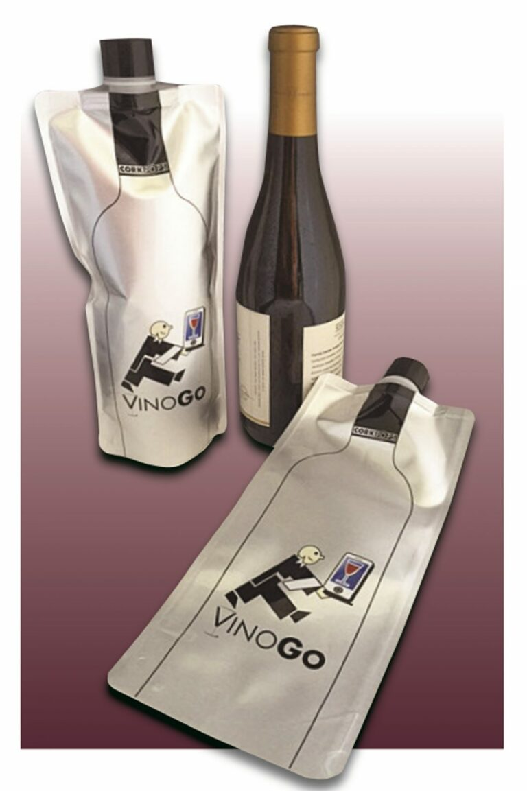 VinoGo: On-the-Go Foldable Wine Bottle