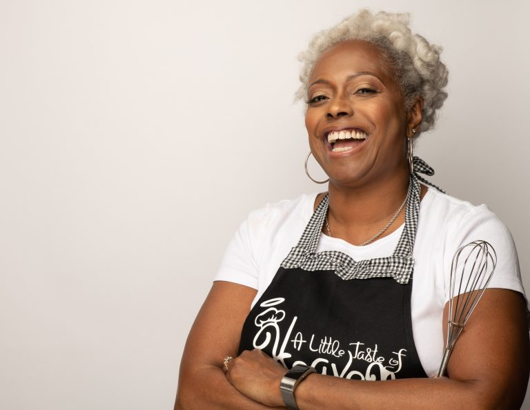 Mona Sanders, owner of A Little Taste of Heaven in Georgia