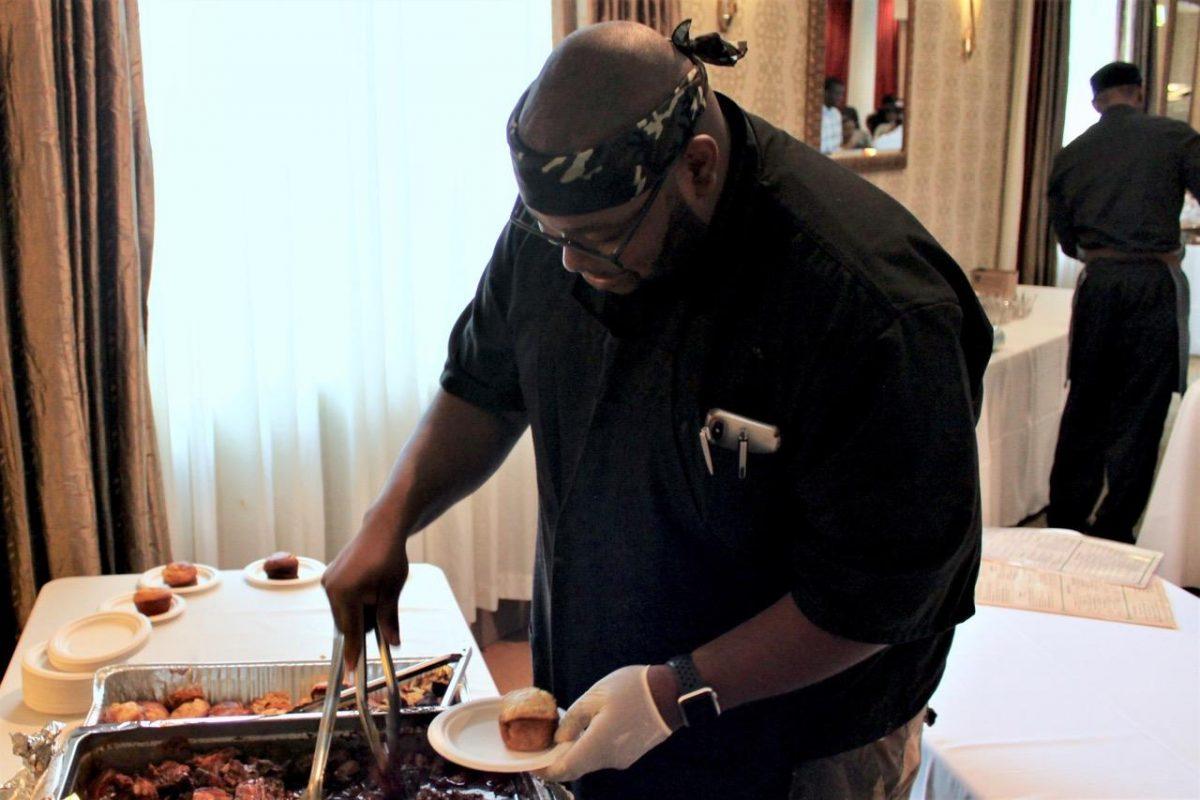 Chef Bernard Bennett of Chicago, IL